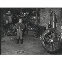 1969 Press Photo The Cycle - John A Gordillo & son John - spa90923