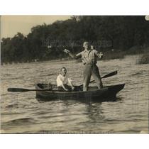 1921 Press Photo Tommy Gibbons, Eddie Kane - ney28110