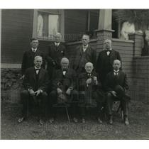 1918 Press Photo Former Mayors of Spokane, Wash. spanning from 1883 through 1917
