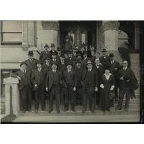 1916 Press Photo Last Progression Meeting at Spokane County Courthouse, Wash.