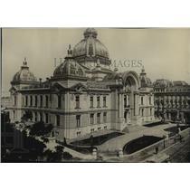 1916 Press Photo The National Bank of Bucharest, Romania - spx19074