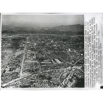 1950 Press Photo Air View US observation plane Taegu - RRX82445