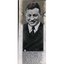1950 Wire Photo Assistant coach of the San Francisco 49ers Eddie Erdeatz,