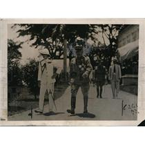 1922 Press Photo The Prince of Wales inspects & visits the Philippines