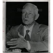 1951 Press Photo Clark Griffith (Washington Senators) - RRW80557
