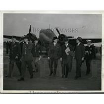 1942 Press Photo US delegates to the United Nations Air Training Conference