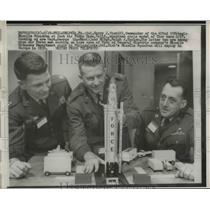 1958 Press Photo Philadelphia 672nd Strategic Squardron Cl Harry J Zink