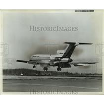 1963 Press Photo New three engine Boeing 727