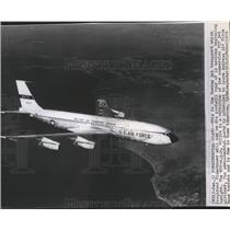 1959 Press Photo Boeing jet, VC137A, that will transport President Eisenhower