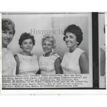 1965 Press Photo Mrs. Mary Ann Noah-All American Transcontinental Air winner