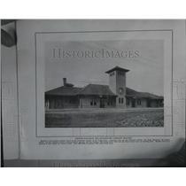 1909 Press Photo Oregon Railroad and Navigation Company Station
