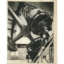 1931 Press Photo telescope at Perkins Observatory at Wesleyan University