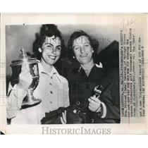 "1901 Press Photo Mildred""Babe""Zaharias won the Women's Titleholder Golf."