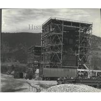 1882 Press Photo  WWP Kettle Falls, Wood burning plant  - spb12848