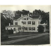 1930 Press Photo Lindberghs' old colonial home, Old Lyme, Connecticut.