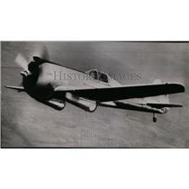 1940 Press Photo New Swift ship known as an interceptor - spw11312