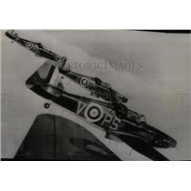 1941 Press Photo British Defiants fighter planes patrol England - spw11435