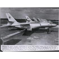 "1960 Press Photo The Soviet IL28 ""Beagle"" bomber - spw11557"