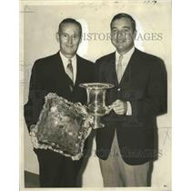 1969 Press Photo Audubon Golf Club - Robert J. Barousse, Murray F. Cleveland