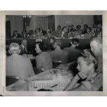 1952 Press Photo Civil rights conference Hilton Hotel - RRU99213