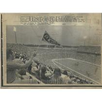 1973 Press Photo Buffalos Rich Stadium Crowds Game - RRV96527