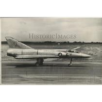 1963 Press Photo Mirage Fighter, French-designed plane for Australian Air Force