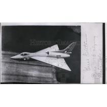 1956 Press Photo Great Britain plane Auro 707B Flying Triangle - spw11561