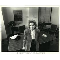 1987 Press Photo Constance Barkley, Women to Watch - noa28756