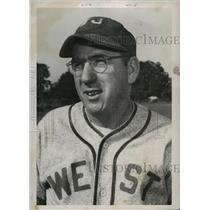 1949 Press Photo Alabama-West baseball coach V.C. McCluskey - abns00729
