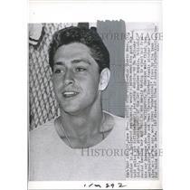 1962 Press Photo Bo Belinsky of the Los Angeles Angels - nox06287