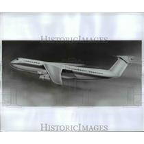 1966 Press Photo Lockheed 500 Worlds Largest Commercial AIrcraft - nem45803