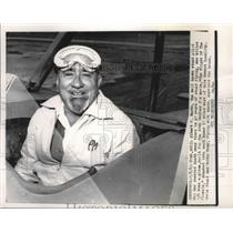 1965 Press Photo Yuma, Ariz: Albert P Mantz well known stunt pilot dies in crash