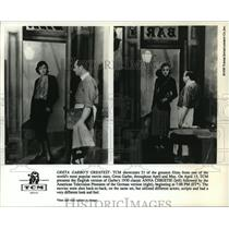 "1930 Press Photo Greta Garbo in American and German version, ""Anna Christine"""