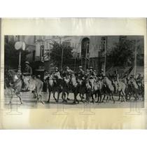 1935 Press Photo Anti-British Riots Cavalry Cairo Egypt - RRX77007
