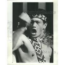 1966 Press Photo Native Dancing At Rotorua - RRX89445