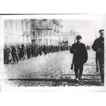 1917 Press Photo Two Red Guards during Russia's February Revolution - spb10447