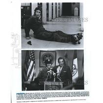 "1899 Press Photo Judge Reinhold , Fred Gwynne star in ""Off Beat"" - spp63070"