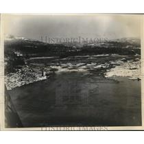 1931 Press Photo Cascade Rapids To Help Harness Columbia River - sbx09018