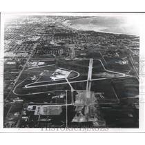 1956 Press Photo Construction Has Begun on Extension to Gen. Mitchell Field, WIS