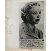1950 Press Photo Olive Ann Beech Elected President of Beech Aircraft Corporation