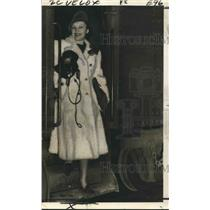 1940 Press Photo Actress Katharine Cornell in No Time for Comedy in New Orleans