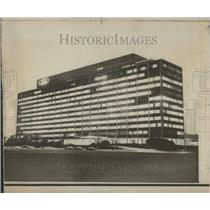 1967 Press Photo Central Office Building Dearborn Ford - RRV93873