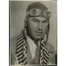 1930 Press Photo Colonel Arthur C. Goebel, Pilot - mjx38596