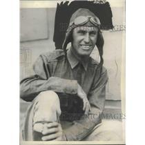 """1927 Press Photo Art Goebel, Pilot of """"Woolaroc"""" in Honolulu - mjx38598"""
