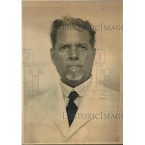 1932 Press Photo Alberto Barrera former VP of Cuban government
