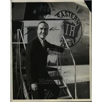 1935 Press Photo Captain Eddie Rickenbacker - cvp95887