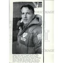 1974 Press Photo Thomas Gatch 2 days before he left Harrisburg then lost contact