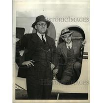 1940 Press Photo Walter Beecht and H.C. Rankin win Bernarr MacFadden Air race