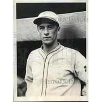 1928 Press Photo Joseph Witry, New York Giants catcher - cvz00193