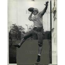 1937 Press Photo Benny Lucas, RH at East High School football - cvb42703
